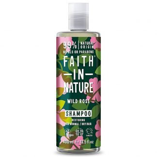 Faith In Nature WildRose Villiruusu Shampoo 400ml