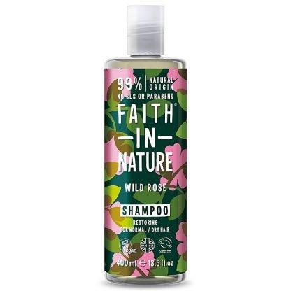 Faith In Nature WildRose Villiruusu Shampoo 400ml