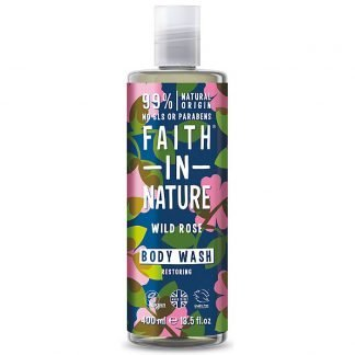 Faith In Nature WildRose Villiruusu Suihkugeeli 400ml