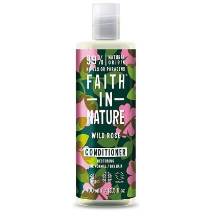 Faith in Nature WildRose Villiruusu Hoitoaine 400ml